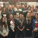 Excell Christmas Jumper Day for Cumbria Foundation
